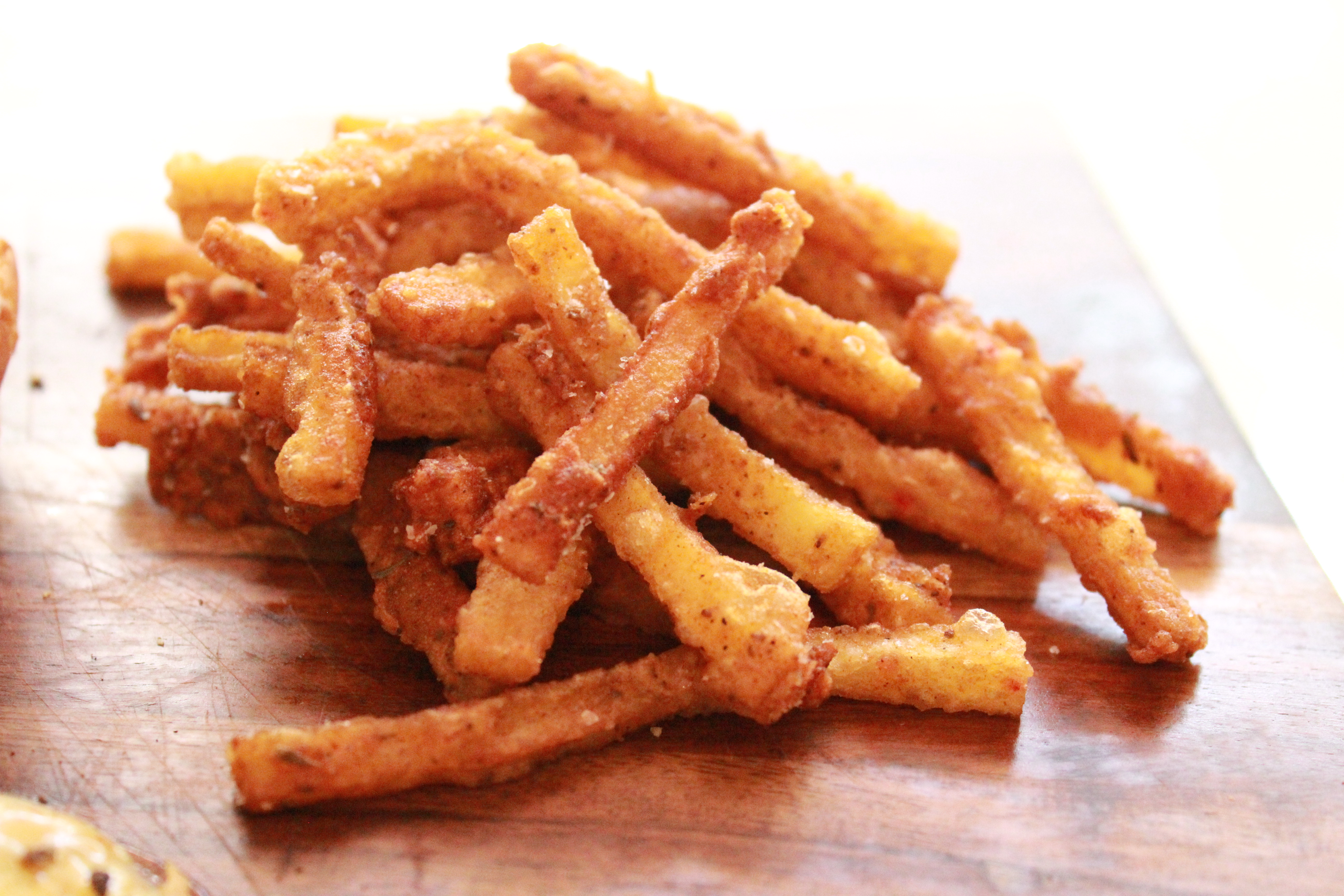 Battered Cajun Fries | Clean Slate by Jonathan Beam