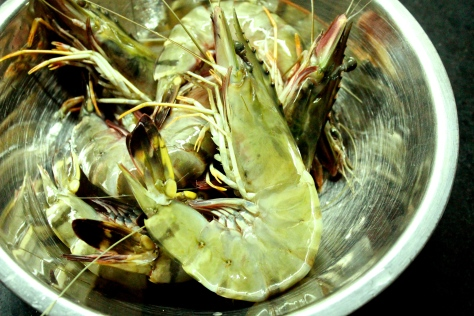 Fresh Giant Prawns
