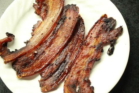 Brown Sugar Baked Picnic Bacon