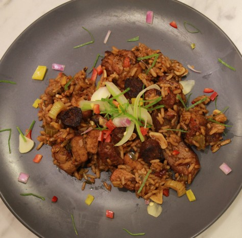 Triple Pork Jambalaya