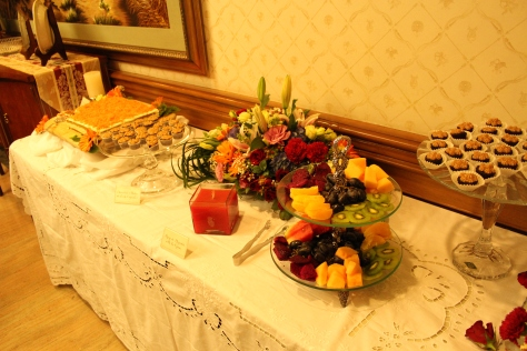 "All of the desserts were provided by ""The Sweet Life by Ange""."