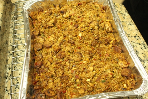 Cannot be a Clean Slate event without Jambalaya.