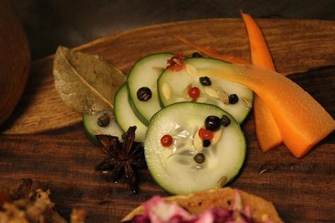 Pickle garnish macro