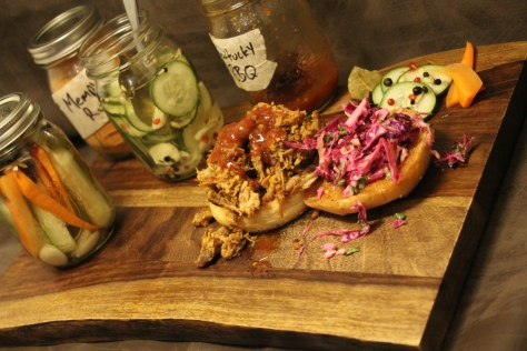 Pulled Pork Board Side View