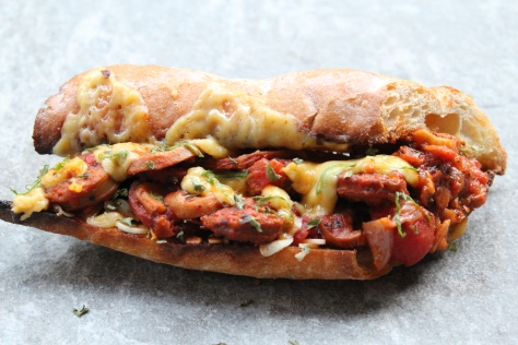 Sausage Marinara Sandwich3