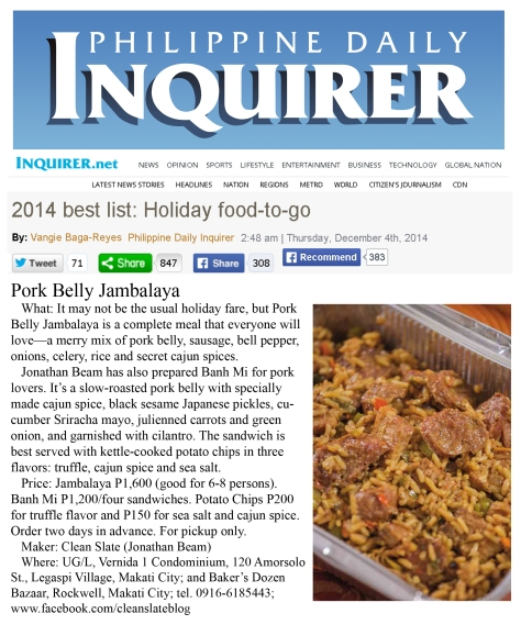 Inquirer article